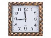 Часы настенные Классика, 1хАА, пластик, стекло,20,5х20,5см