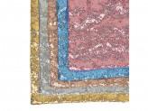 "Наволочка декоративная рогожка 40х40см, полиэстер, ""Пайетки"", 5 цветов"