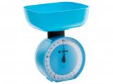 Весы бытовые настольные 5 кг КСА-104 с чашей голубые DELTA