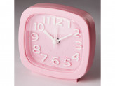 Будильник 8,5x4,6х8,6см DT8-0003 розовый DELTA