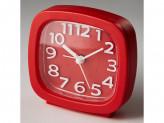 Будильник 8,5x4,6х8,6см DT8-0002 красный DELTA