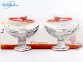 Набор креманок 2 шт стекло