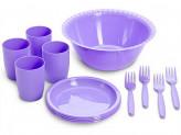 """Набор посуды для пикника """"Витто"""" на 4 персоны С67 (микс)"""