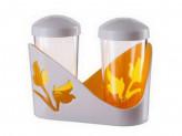 Набор для специй 2 предмета оранжевый viola
