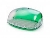 Хлебница 30х36,3х17см зеленый прозрачный беросси