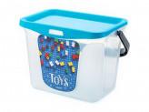 Контейнер для хранения 6,0л toys голубая лагуна