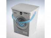Контейнер пластик для стирального порошка 5л 493 п 23 №179