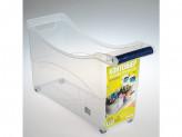 Контейнер пластиковый хозяйственный универс на колесах