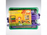 Контейнер для игрушек на колесах 450х311х662см