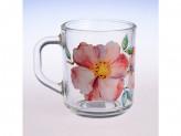 Кружка Green Tea Акварельные цветы
