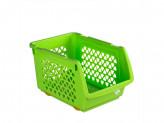 Ящик пластик для овощей 10л 330х233х200 цвет микс