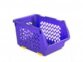 Ящик пластик для овощей 4,5л 255х178х155 цвет микс