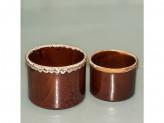Набор для куличей керамическая 2 пр