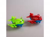 Игрушка самолет пластм инерц
