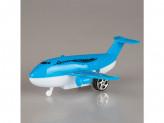 Игрушка самолет пластм инерц №92