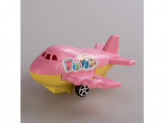 Игрушка самолет пластм в пакете №24
