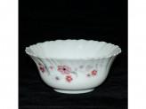 Салатник стеклокерамика d12 h6 розовый цветок