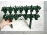 """Заборчик """"классика"""" 0,25мх1,8м зелёный"""