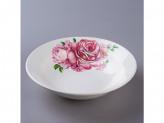 50358 Миска мал гр8,розовые розы 0159 уп/26шт. (шт.)
