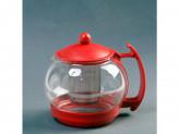 Чайник заварочник стекл пластик 1250 мл
