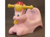 Горшок детский с игр зайчик розовый