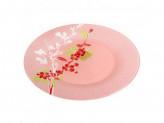 Тарелка обеденная сакура розовая