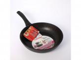 Сковорода 24см без крышки темный мрамор