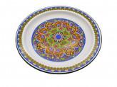 Блюдо 3,0л эмаль, с рисунком арабский орнамент