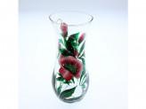 Ваза для цветов 26см талия ручная роспись лолита