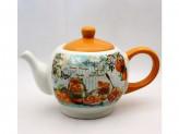 Чайник для заварки 0,90л апельсины