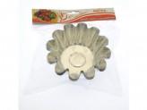 Набор форм для выпечки ромовой бабы d-130мм н54мм 4шт