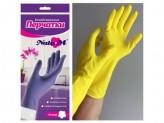 Перчатки резиновые l хоз natam