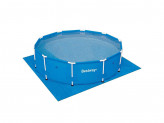 Подложка для бассейнов, полиэтилен, 396х396см