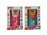 Игрушка электронная Телефон, свет, звук, пластик, 2хAG13, 9.5х6х3,5см, 2 дизайна