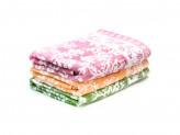 """Полотенце махровое, 50  бамбук 50  хлопок, 70х140см, """"Цветущие веточки"""", 3 цвета"""