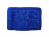 Коврик для ванной ВЕТКА 50х70см полипропилен синий