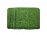 Коврик для ванной ВЕТКА 50х70см полипропилен зеленый