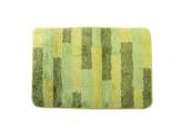Коврик для ванной ПОЛОСКА 50х75см микрофибра зеленый