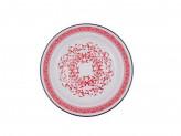 Блюдо 3,0л эмалированый с рисунком узор индийский 2
