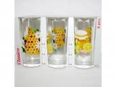 Набор стаканов 6шт 250мл ода мед