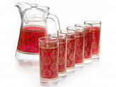 Набор 7пр (графин1,3л + 6 стаканов 285мл)