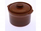 Горшок под жаркое 0,6л глинка сотейник