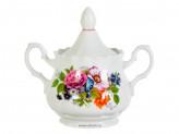 Сахарница романс букет цветов