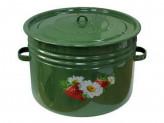 Бак 32,0л эм зелёный рябчик с рис