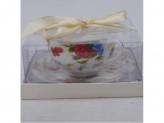 MILLIMI Полянка Набор чайный 2 предмета 330мл, тонкий фарфор
