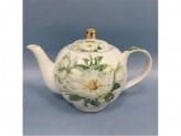 Белая роза Чайник заварочный 1000 мл, фарфор