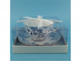 MILLIMI Грация Набор чайный 2 предмета 250мл, костяной фарфор