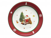 MILLIMI Новый год Блюдо круглое, 33х6см, керамика