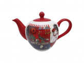 MILLIMI Повар Чайник заварочный, 1200мл, 25х14х16см, керамика
