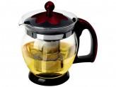 Чайник заварочный Decotto-1200 с пластик ручкой, фильтр из нерж ст, 1,2 л, Mallony